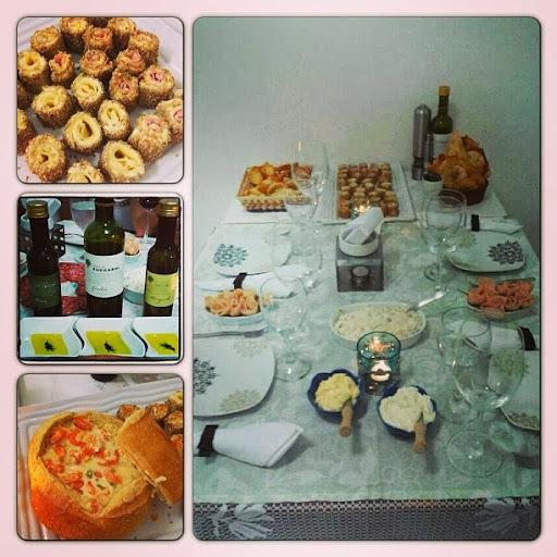 ideias para jantar italiano com amigos