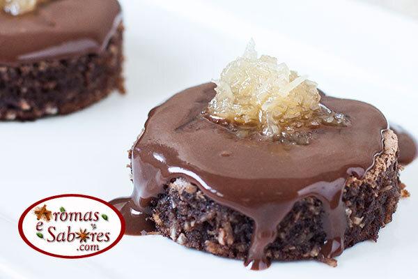 bolo de chocolate de liquidificador sem gluten