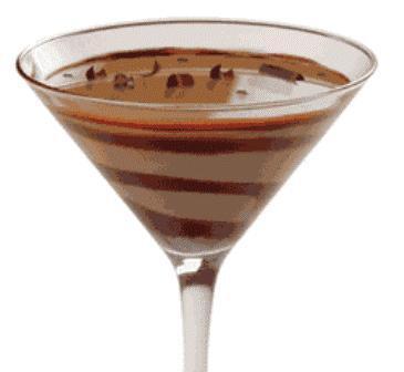 Cocktail de chocolate