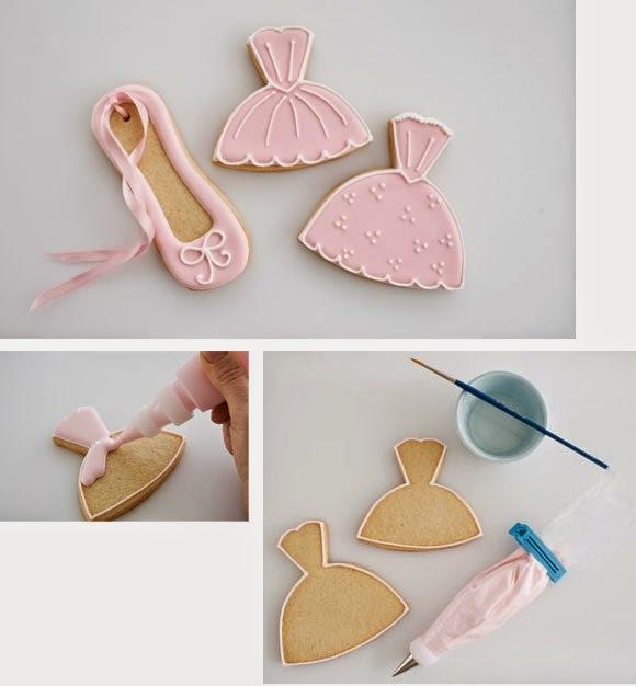 Como decorar biscoitos com glacê
