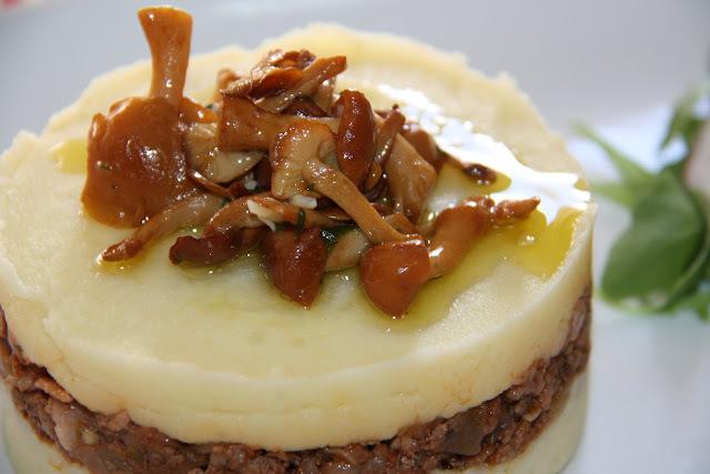 Pastís de patata i carn picada de vedella dels Ports