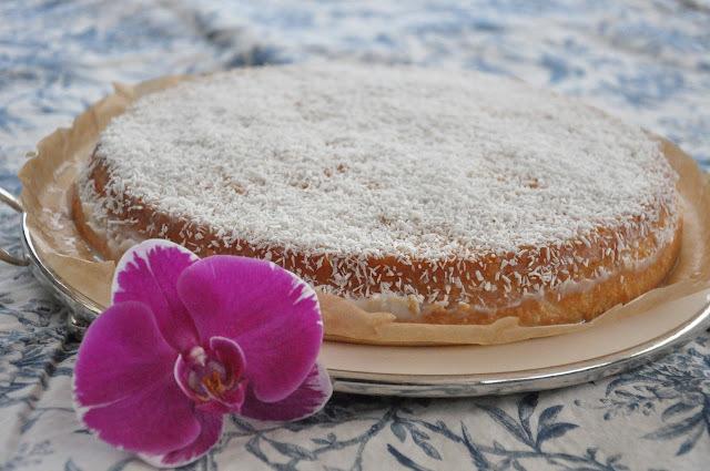 Torta pecaminosa de coco