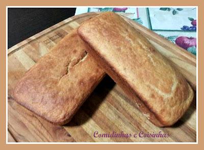 Pão de Milho Alemão - Broa de Milho - Pao com Polentina