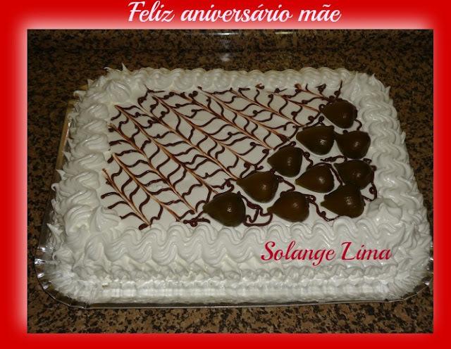 Parabéns e muita saúde, feliz aniversário mãe!!