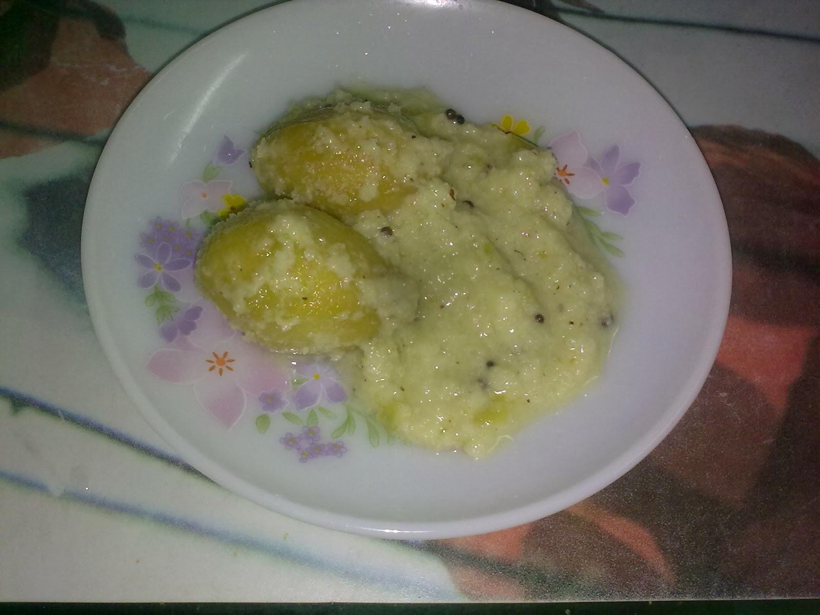 Plum/amra sweet chutney/Ambadyache raite