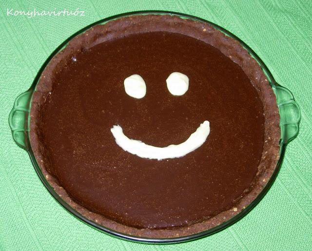 Karamelles-csokis keksztorta - SAD! 14. forduló