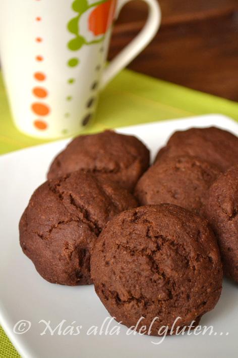 Pancitos Dulces de Quinua y Chocolate (Receta GFCFSF, Vegana)
