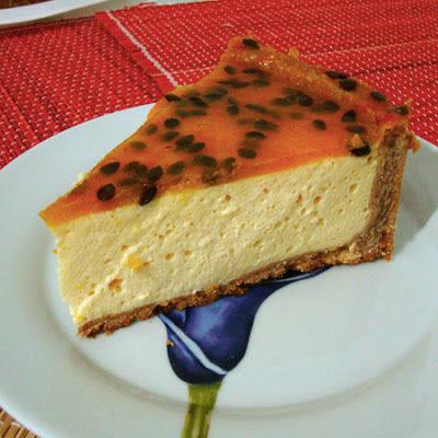 Torta Musse de Maracujá