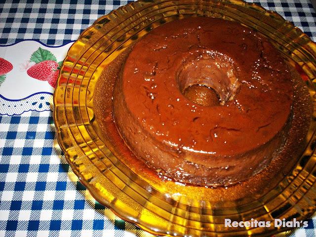 Blogagem Coletiva - Blogga Rio - Pudim de chocolate com cachaça