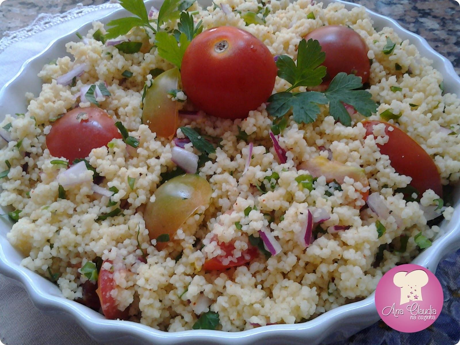 Couscous com Mini Tomates