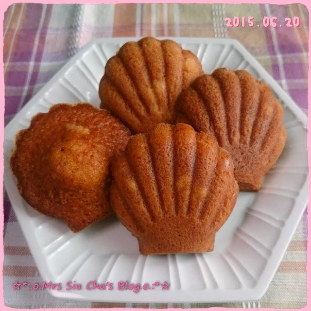 海鹽焦糖瑪德蓮蛋糕 Salted Caramel Madeleines [Toshiba ER-GD400HK水波爐, 附食譜]