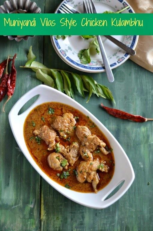 Chicken Kulambhu - Madurai Munniyandi Vilas Style