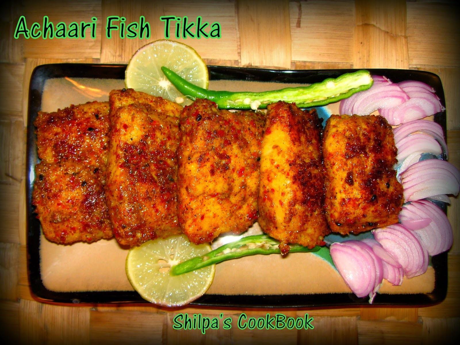 Achaari Fish Tikka