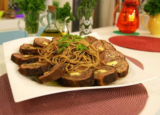 Espaguete de Lagarto de Panela