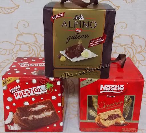 Novos Panettones Nestlé para o Natal 2013