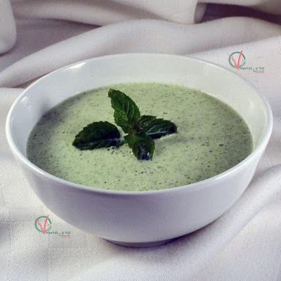 Sopa fría de pepino