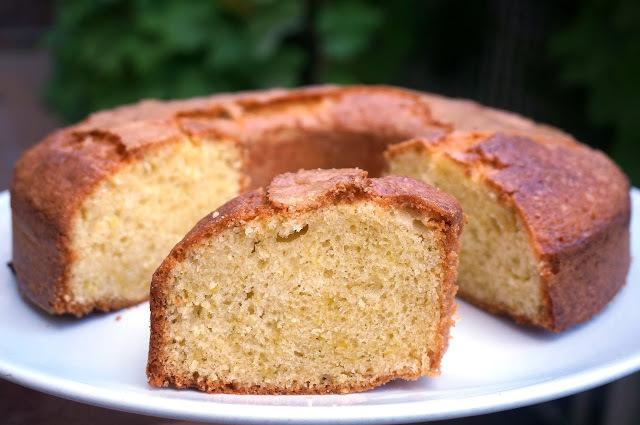 Bizcocho de la abuela al limón - Torta de manteca