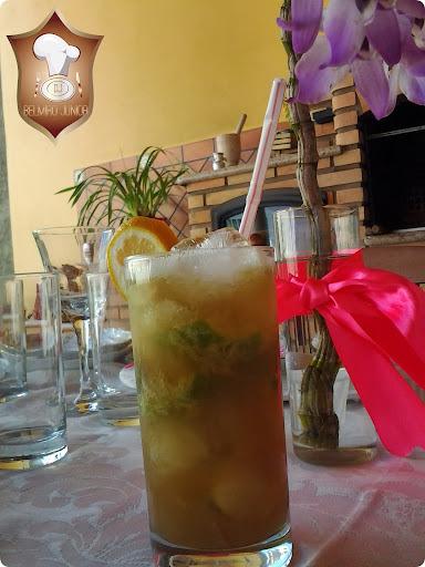 caipirinha com limão siciliano