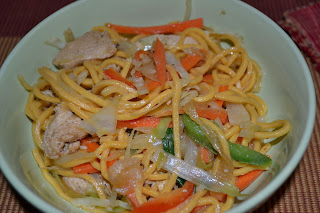 guyanese style chow mein