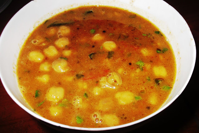 Quick Channa Masala