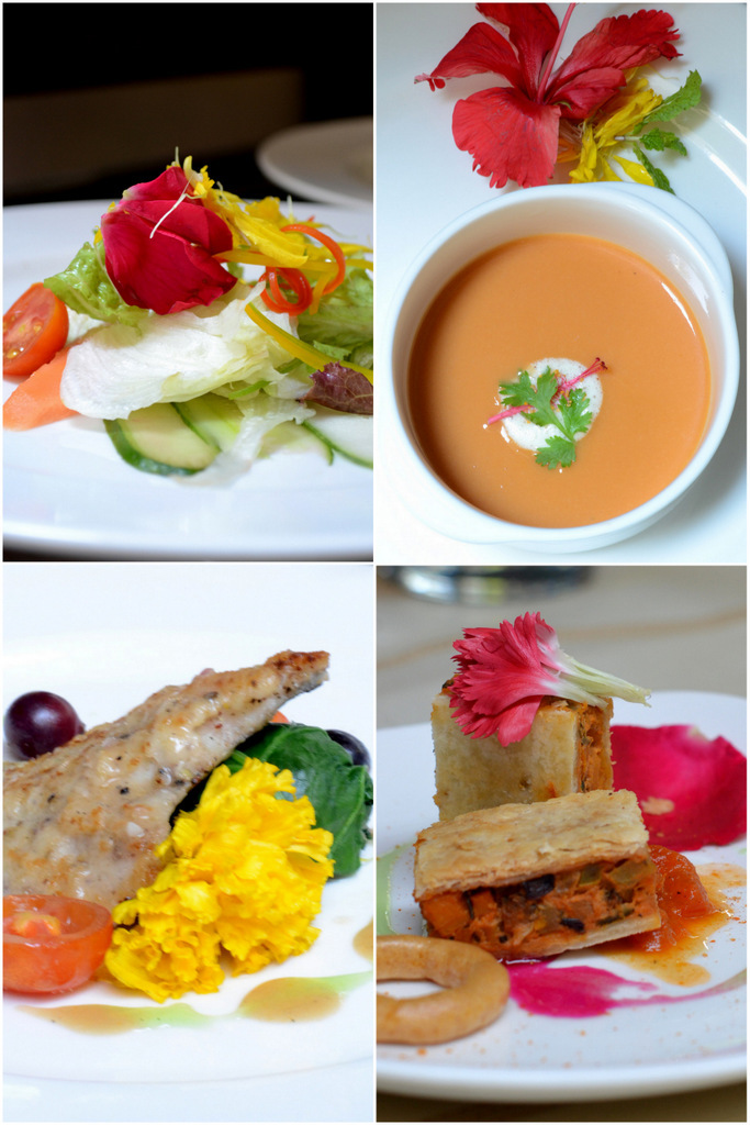 Restaurant Review I Tribute to Edible Flowers at Grand Mercure, Bangalore