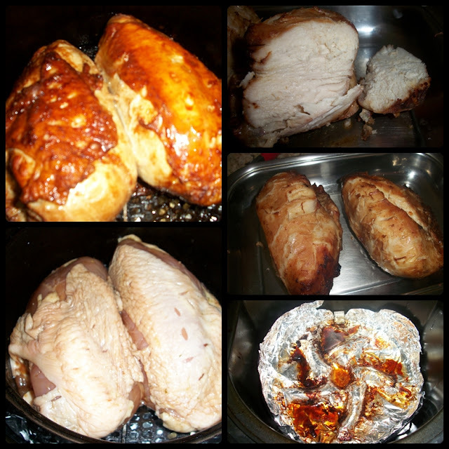 Peito de frango assado na airfryer