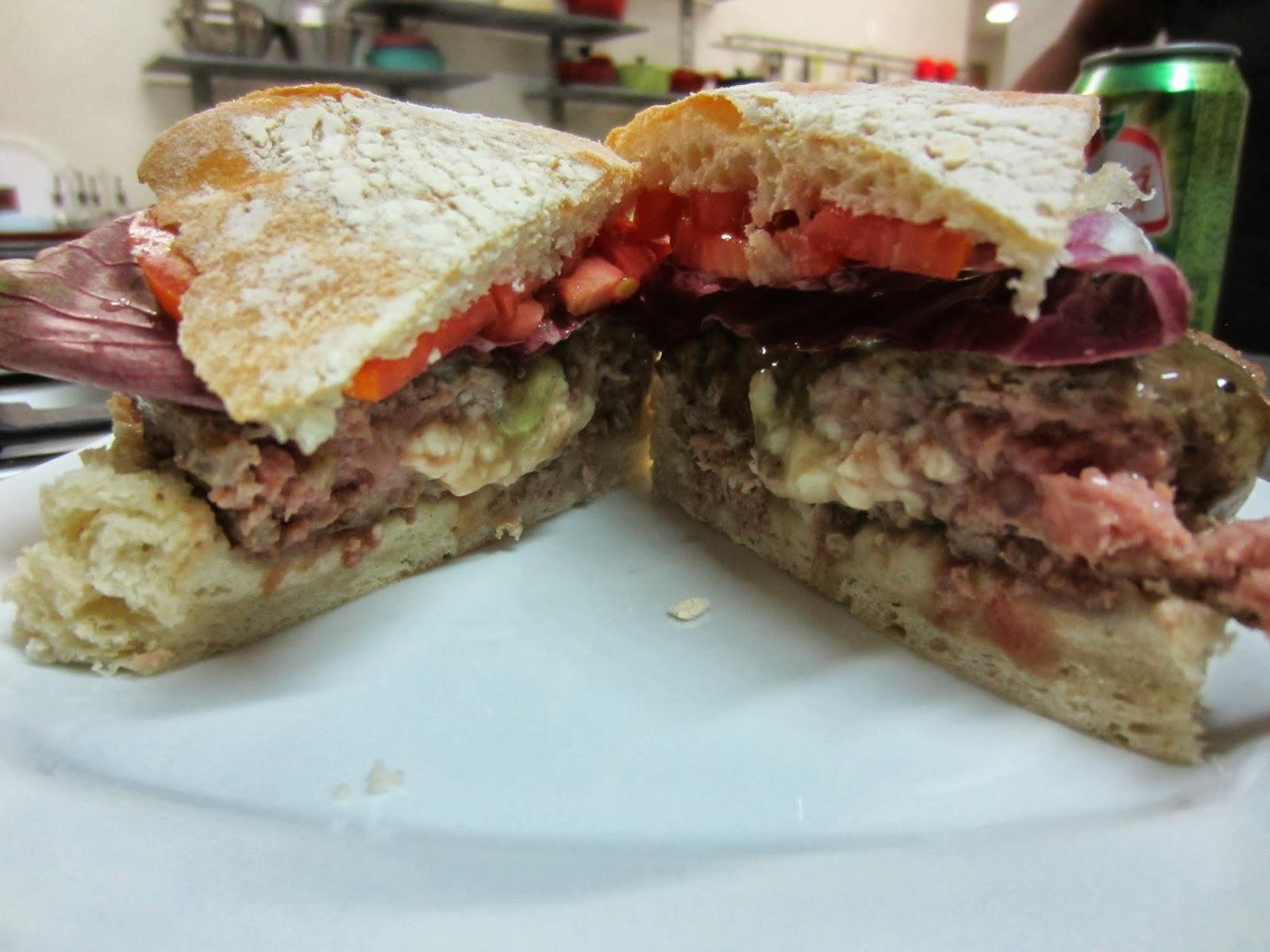 Hambúrguer de Cordeiro com queijo feta - Post IV de V