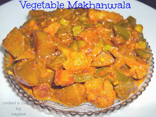 Vegetable Makhanwala