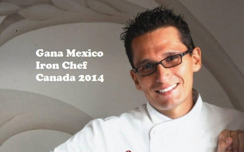 Mexico Campeón en Iron Chef Canadá 2014