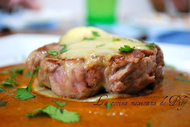 Menú mexicano para una ocasión especial : filete de res al chipotle