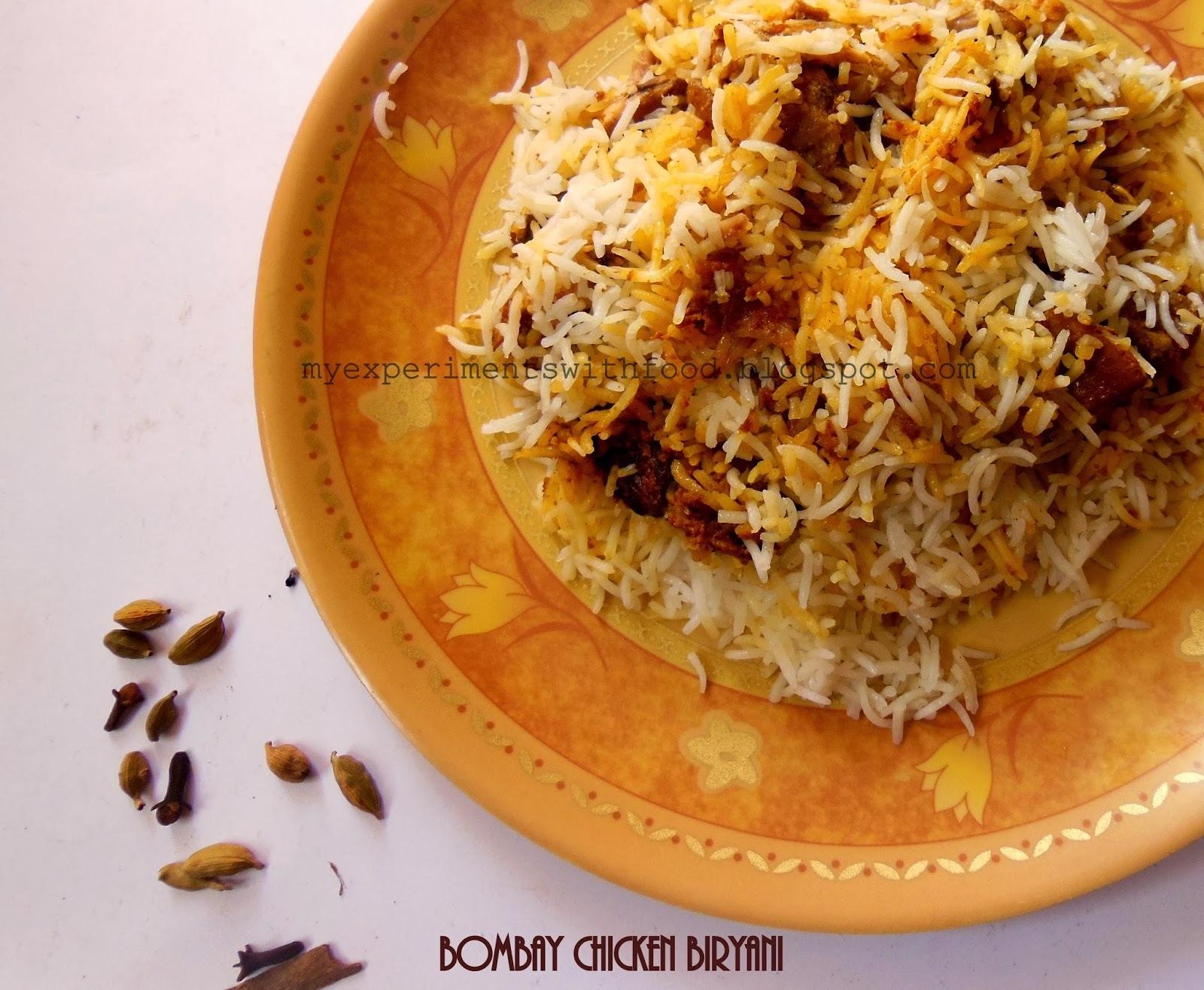 Bombay Chicken Biryani- An anniversary special....