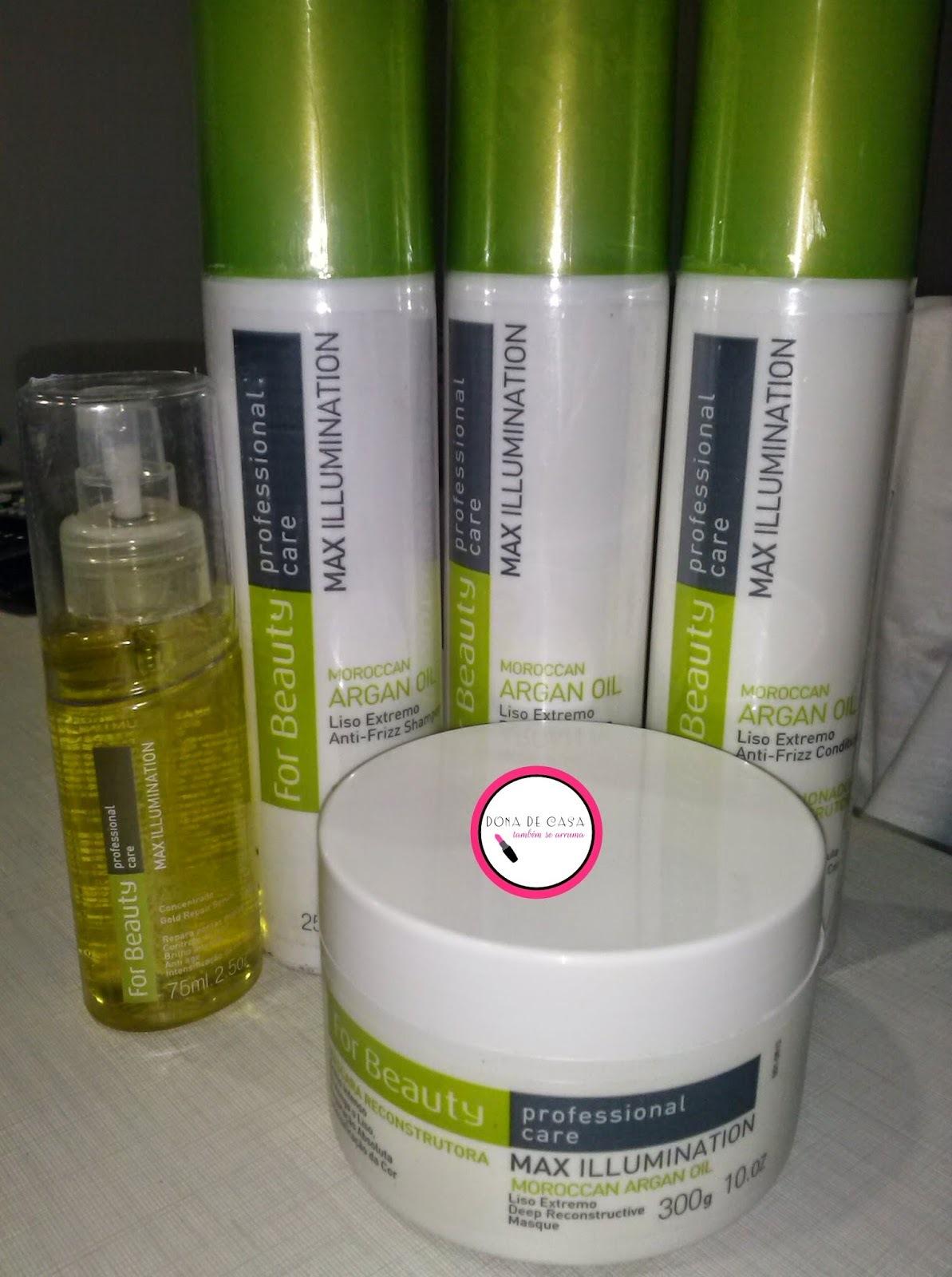 Testei produtos para cabelo Max Illumination +  sorteio de um kit completo
