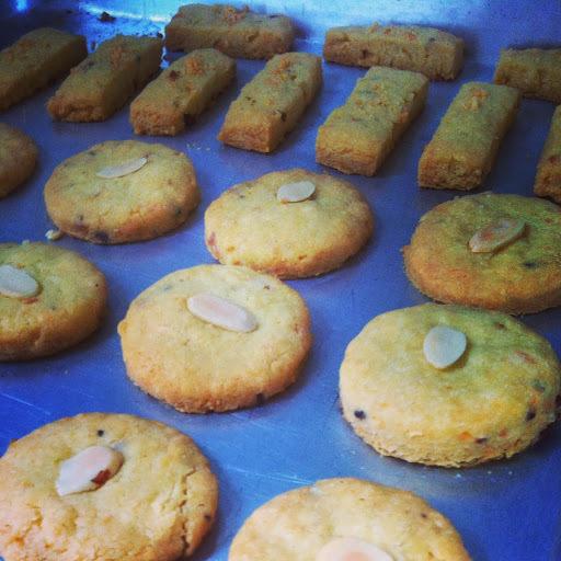 Biscoitos de Parmesao e Bacon