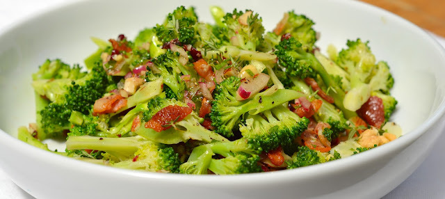 nz broccoli and bacon salad