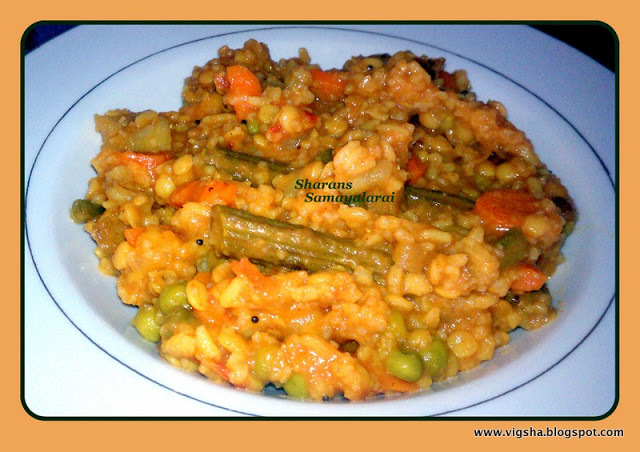 Besi bella bath / Rice with Lentils