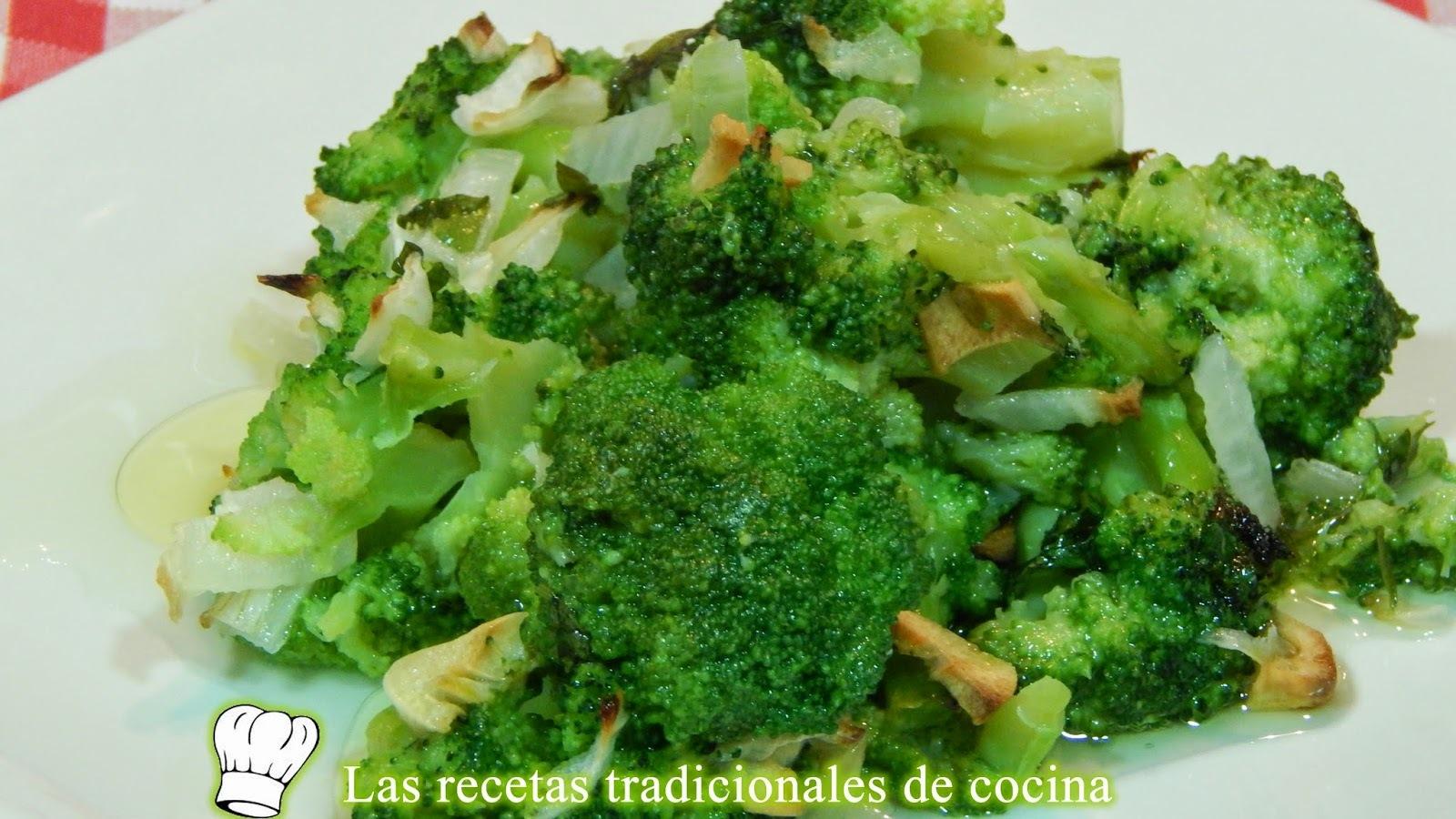 Receta fácil de brócoli a la provenzal