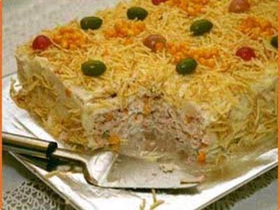 bolo salgado de pao de forma pode ser congelado