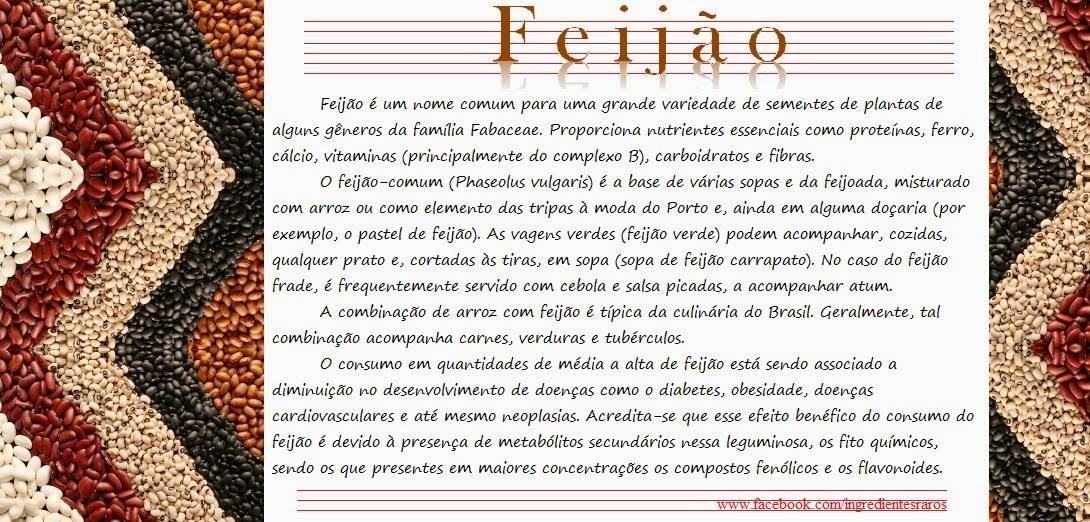 DICA FUNCIONAL: FEIJÃO E MILHO