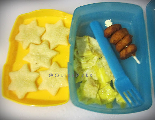 School Snack Series - 03 & my Cut-piece Dosa Breakfast