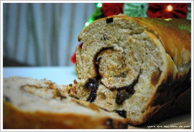 primícias do natal IV: pão de canela com passas