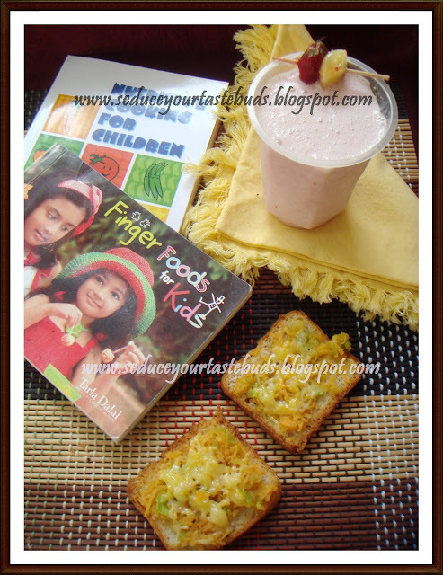 Cheesy Golden Toast & Wake Up Shake
