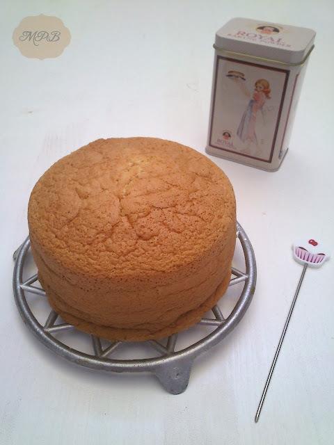Bizcocho básico, ligero y esponjoso ( Ideal para tartas)