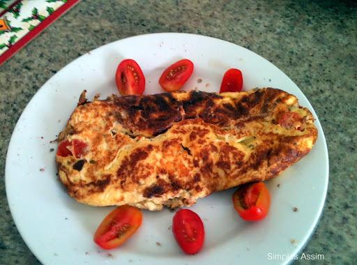 omelete no cafe da manha faz bem