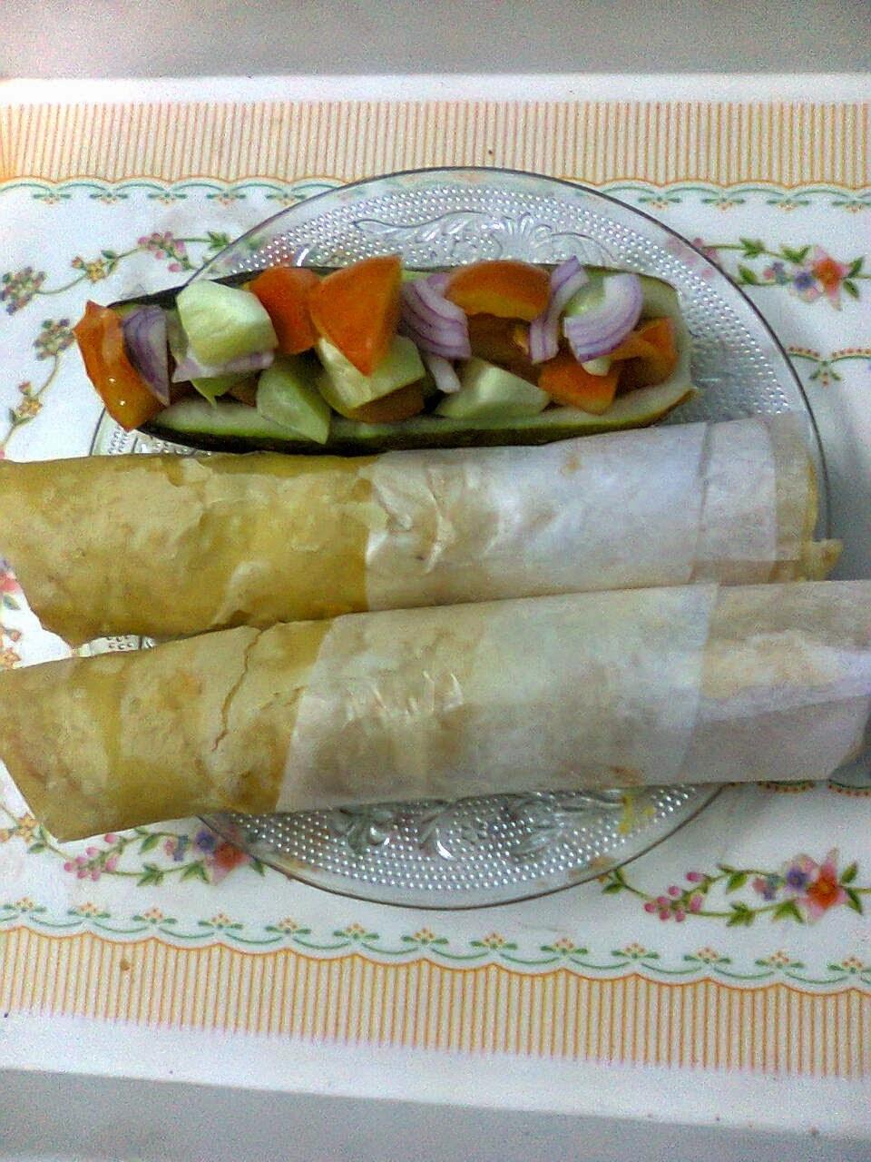 Kolkata Street Food – Egg Roll / Home Made Egg Roll