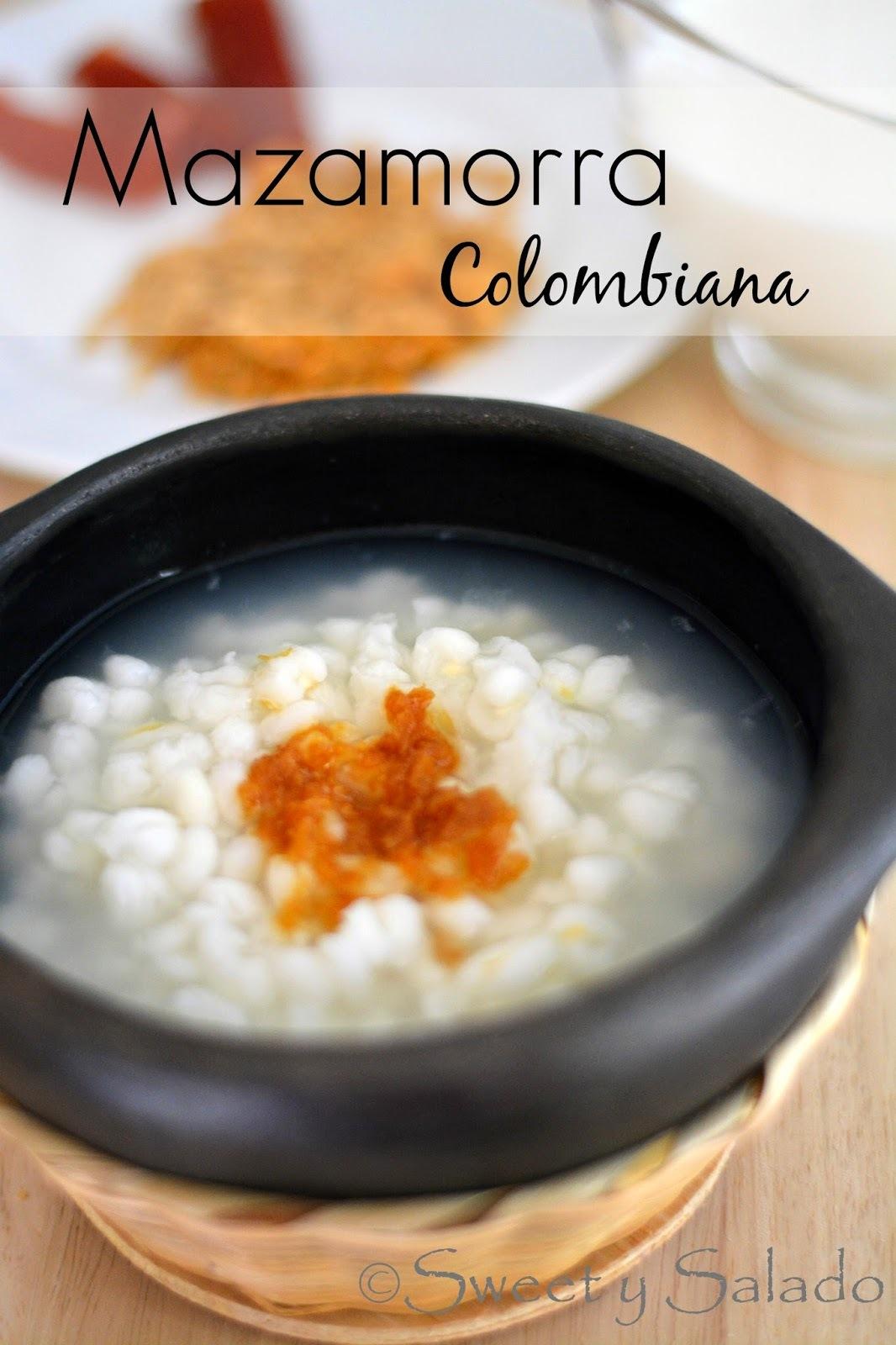 Mazamorra Colombiana
