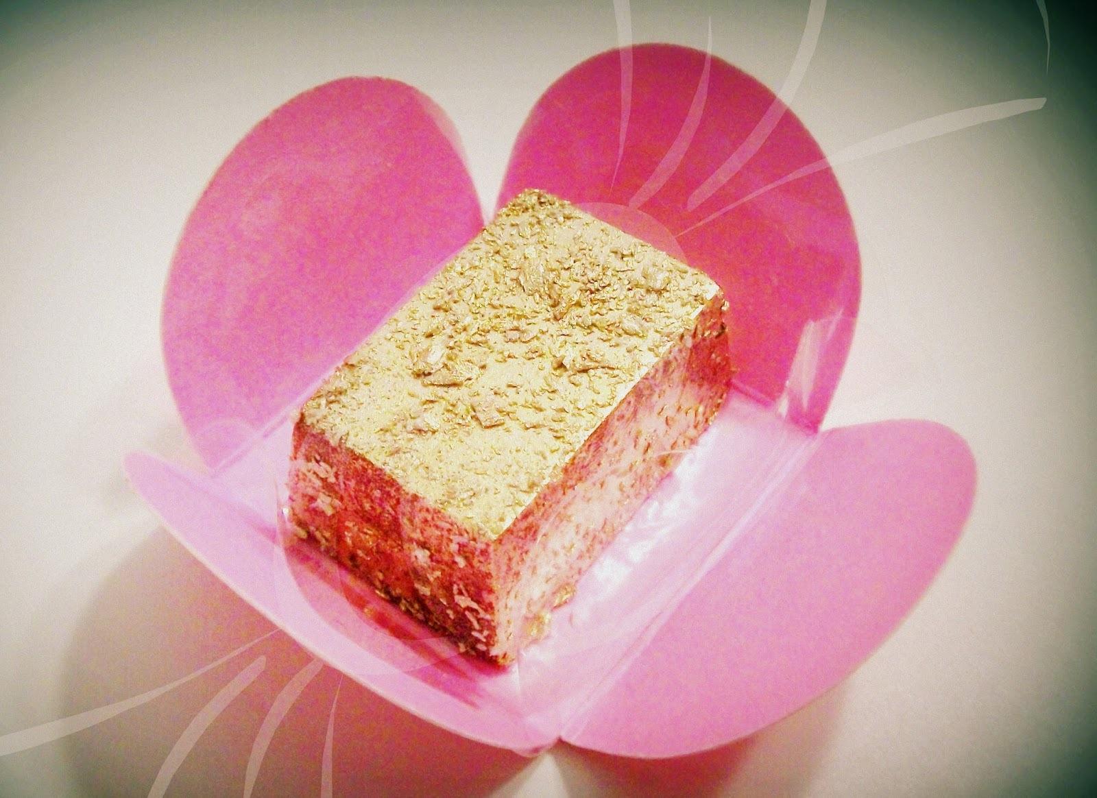 como deixar o chocolate dourado