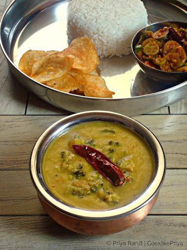 Pavakkai Pitlai | Bitter Gourd Coconut Curry | No onion no tomato no garlic recipe