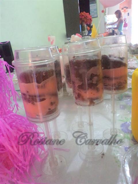 Push up Cupcakes e Festa de Aniversário