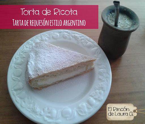Torta de Ricota • Tarta de Requesón estilo Argentino