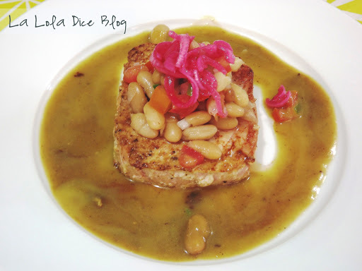 Filete de Atún a la Mexicana